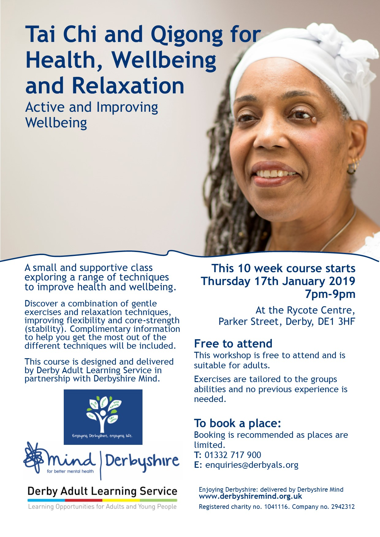 tai chi and qigong for health wellbeing and relaxation derby